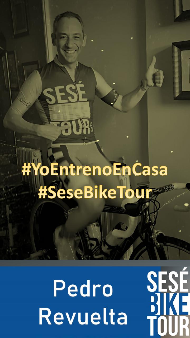 #YoEntrenoEnCasa #SeséBikeTour
